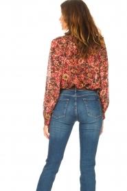 ba&sh |  Printed blouse Gaelle | bordeaux  | Picture 7