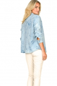 Sofie Schnoor |  Jeans blouse jacket Silke | blue  | Picture 7