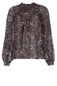 ba&sh |  Printed blouse Gaelle | brown  | Picture 1