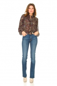 ba&sh |  Printed blouse Gaelle | brown  | Picture 3