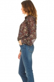 ba&sh |  Printed blouse Gaelle | brown  | Picture 5