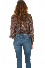 ba&sh |  Printed blouse Gaelle | brown  | Picture 6