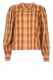 ba&sh |  Roze | Ruit blouse Sandy  | Picture 1