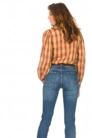 ba&sh |  Roze | Ruit blouse Sandy  | Picture 6