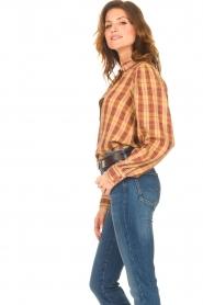 ba&sh |  Roze | Ruit blouse Sandy  | Picture 5