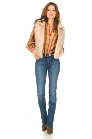 ba&sh |  Roze | Ruit blouse Sandy  | Picture 3