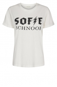 Sofie Schnoor |  Cotton Logo T-shirt Cady | white  | Picture 1