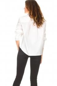 ba&sh |  Cotton blouse Dido | white  | Picture 7