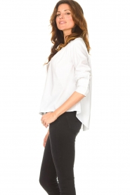 ba&sh |  Cotton blouse Dido | white  | Picture 6