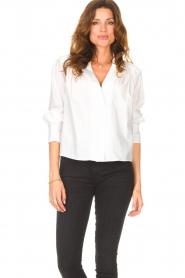 ba&sh |  Cotton blouse Dido | white  | Picture 5