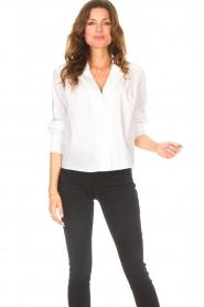 ba&sh |  Cotton blouse Dido | white  | Picture 2