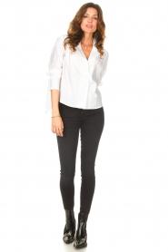 ba&sh |  Cotton blouse Dido | white  | Picture 3