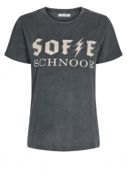 Sofie Schnoor |  Cotton logo T-shirt Cady | black