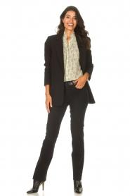 ba&sh |  Ruffle blouse Bora | natural  | Picture 4