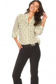 ba&sh |  Ruffle blouse Bora | natural  | Picture 5
