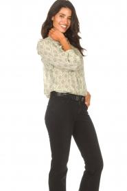 ba&sh |  Ruffle blouse Bora | natural  | Picture 6