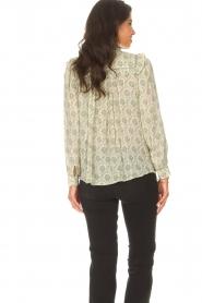 ba&sh |  Ruffle blouse Bora | natural  | Picture 8