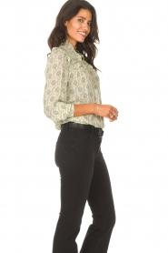 ba&sh |  Ruffle blouse Bora | natural  | Picture 7