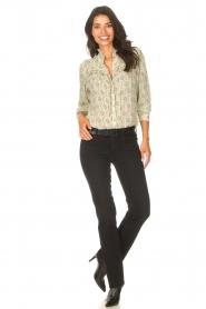 ba&sh |  Ruffle blouse Bora | natural  | Picture 3