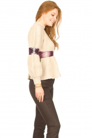 ba&sh |  Sweater with waist detail Octave | natural  | Picture 6