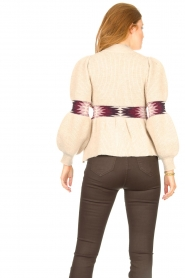 ba&sh |  Sweater with waist detail Octave | natural  | Picture 7