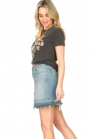 Sofie Schnoor |  Printed T-shirt Cady Rock | black  | Picture 5
