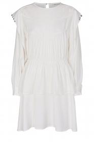 Sofie Schnoor |  Dress with pleated details Regina | white  | Picture 1