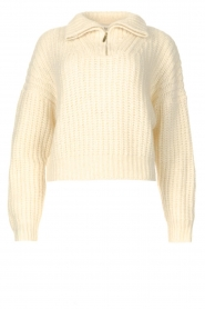 ba&sh |  Knitted sailor sweater Beltan | natural  | Picture 1