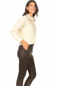 ba&sh |  Knitted sailor sweater Beltan | natural  | Picture 6