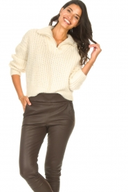 ba&sh |  Knitted sailor sweater Beltan | natural  | Picture 2