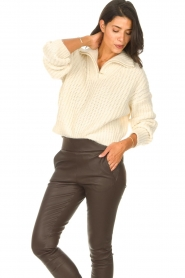 ba&sh |  Knitted sailor sweater Beltan | natural  | Picture 5