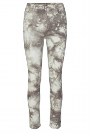 Sofie Schnoor |  Jeans with tie dye effect Jullia | grey  | Picture 1