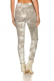 Sofie Schnoor |  Jeans with tie dye effect Jullia | grey  | Picture 6