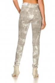 Sofie Schnoor |  Jeans with tie dye effect Jullia | grey  | Picture 7