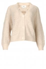 ba&sh |  Knitted cardigan Beliz | beige  | Picture 1