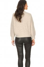ba&sh |  Knitted cardigan Beliz | beige  | Picture 7