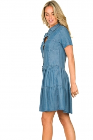 Silvian Heach |  Dress Seltrix | blue  | Picture 7