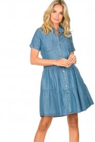 Silvian Heach |  Dress Seltrix | blue  | Picture 5