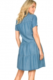 Silvian Heach |  Dress Seltrix | blue  | Picture 8