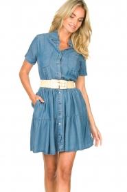 Silvian Heach |  Dress Seltrix | blue  | Picture 2