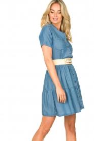Silvian Heach |  Dress Seltrix | blue  | Picture 4