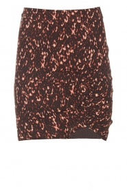ba&sh |  Skirt with elastic detail Pearl | black  | Picture 1