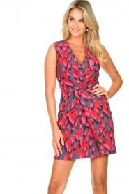 Silvian Heach |  Cocktail dress Fallon | pink  | Picture 5