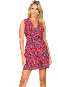 Silvian Heach |  Cocktail dress Fallon | pink  | Picture 4