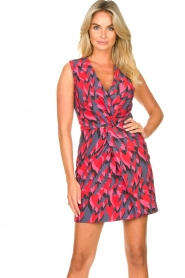 Silvian Heach |  Cocktail dress Fallon | pink  | Picture 2