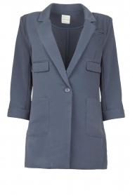 Silvian Heach |  Blazer with three quarter sleeves Mirym | blue  | Picture 1