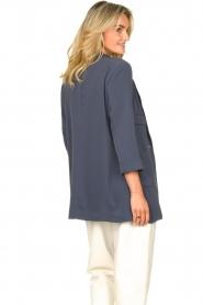 Silvian Heach |  Blazer with three quarter sleeves Mirym | blue  | Picture 7