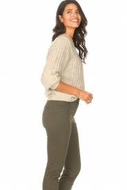 Set |  Knitted sweater Bella | natural   | Picture 6