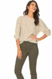 Set |  Knitted sweater Bella | natural   | Picture 5