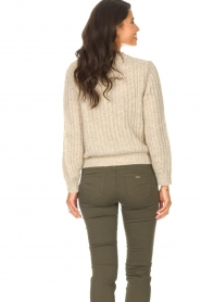 Set |  Knitted sweater Bella | natural   | Picture 7